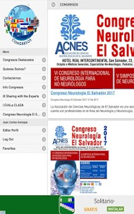 Congresos- screenshot thumbnail