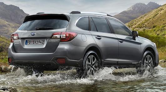 Subaru Outback Silver Edition.