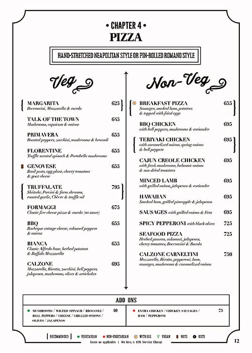 Fable menu 14