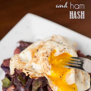 Sweet Potato and Ham Hash