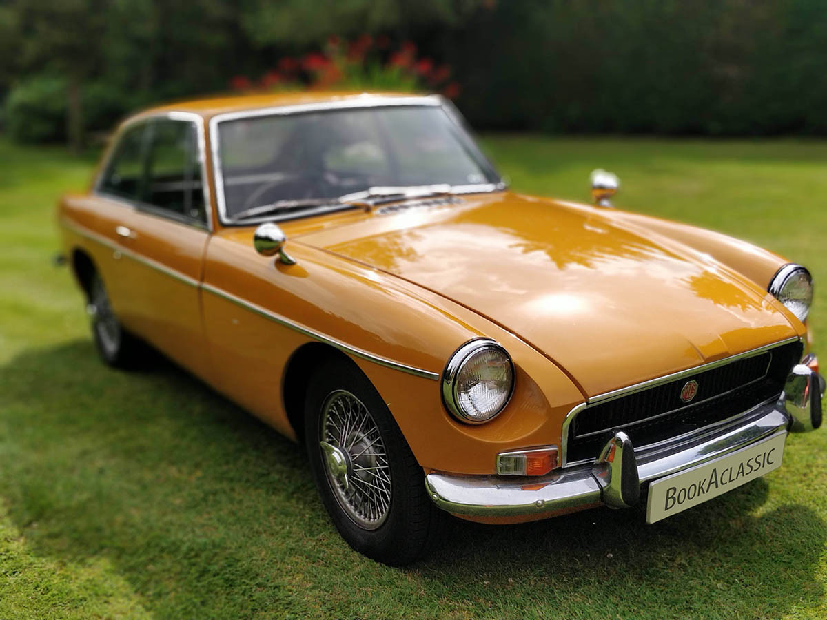 MG Mgb Gt Hire Henley-on-thames
