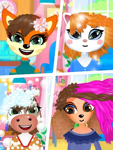 Hair salon : animals 1.1.0 screenshots 8