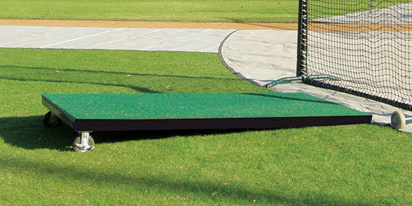 Batting Practice Platform Mound