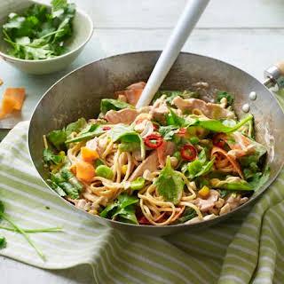 Chicken Satay Noodles.