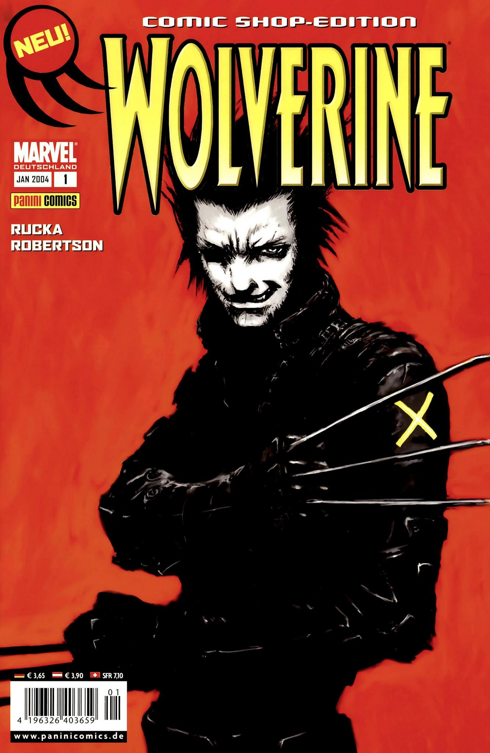 Wolverine (2004) - komplett