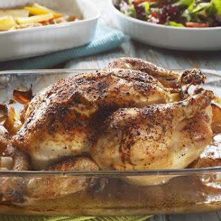 Oven-Baked Rotisserie-Style Chicken.