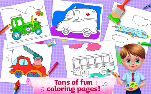 The Wheels on the Bus - Learning Songs & Puzzles 1.0.8 screenshots 3