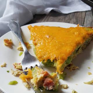 Cheesy Broccoli Egg Bake.