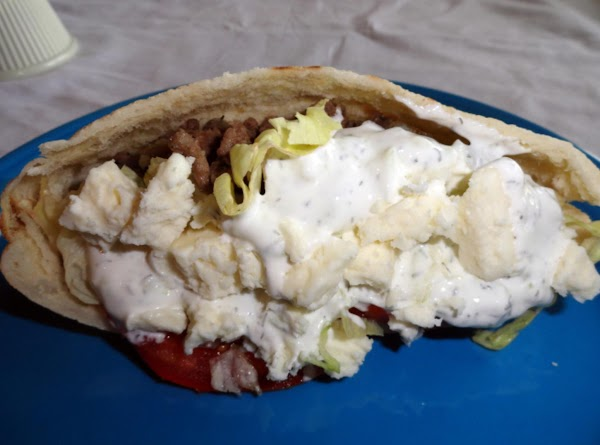 Greek Beef Gyros Recipe