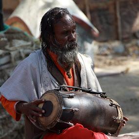 by Kedar Banerjee - People Musicians & Entertainers