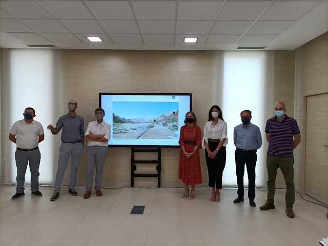 Equipo redactor junto a los técnicos municipales que han desarrollado el proyecto