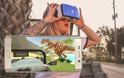 VR Time Machine Dinosaur Park (+ Cardboard) APK screenshot thumbnail 16