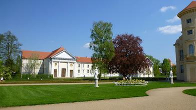 Photo: Blick vom Schloss Rheinsberg in Richtung Musikakademie