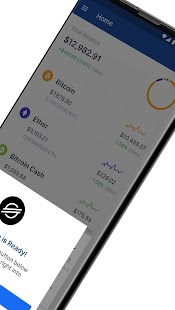 Blockchain Wallet. Bitcoin, Bitcoin Cash, Ethereum Screenshot