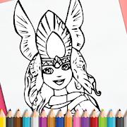 Fantasy Drawing Art icon