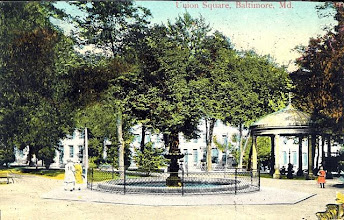 Photo: Union Square Park - Historic Postcard
