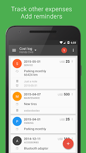 Fuelio: Gas log & costs Screenshot 3