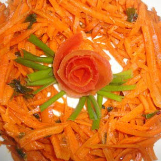 Easy Moroccan Carrot Salad