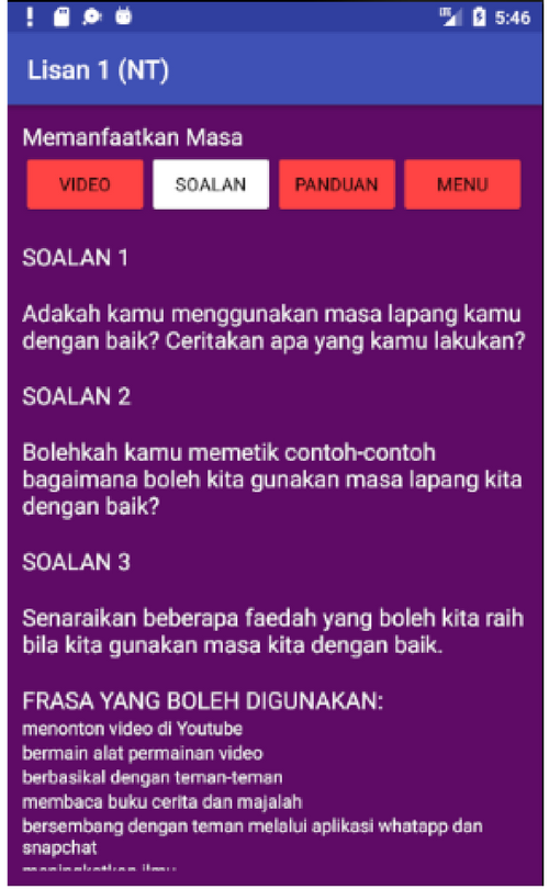 Lisan 1 (NT)- screenshot