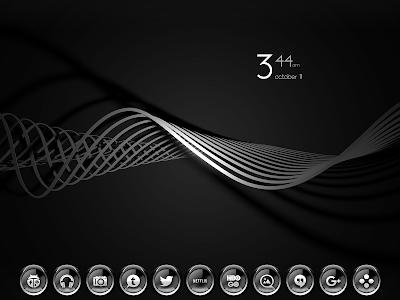 C9 Gray - Icon Pack v1.5