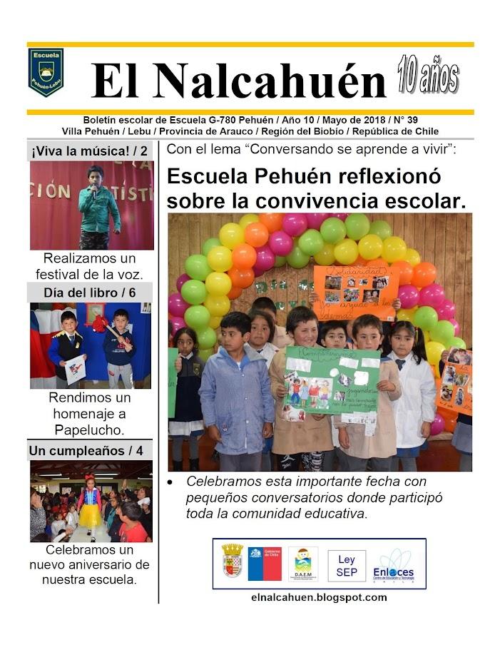 El Nalcahuén IMPRESO N° 39 (Mayo de 2018)