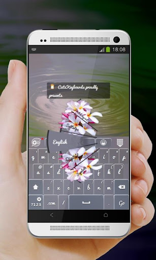 花束 GO Keyboard Theme