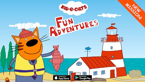 Kid-E-Cats: Adventures. A baby game apktram screenshots 1