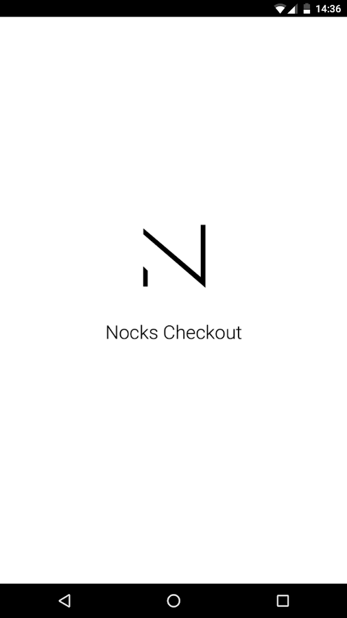 Nocks Checkout: screenshot