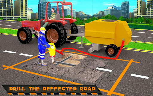 Highway Construction Road Builder 2019- Free Games 2 screenshots 6