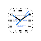 Square Analog Clock AW-7