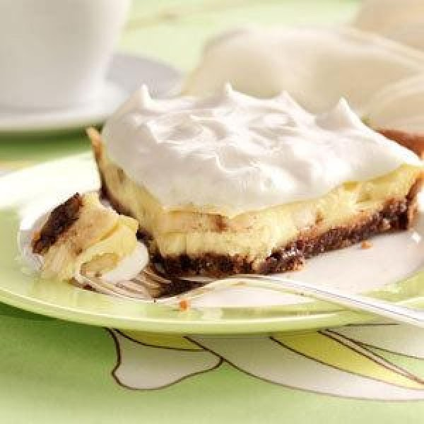 Chocolate-banana Pie. Recipe