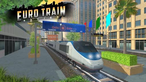 Euro Train Racing 3D screenshot 11