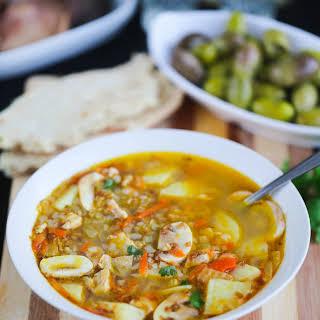 Russian Buckwheat Soup.