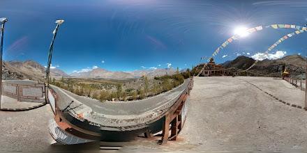 Photo: Dikshit Monastery, Nubra Valley, Ladakh