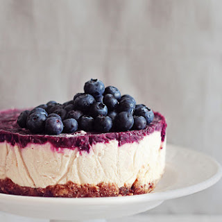 Blueberry Raw Cheesecake Recipe