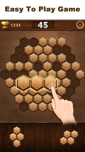 Wood Block Hexagon for PC