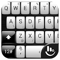 Keyboard Theme Gloss White