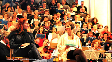 Photo: Julia Wagner, Sopran & Anna Haase, Alt  http://www.kirchenmusik-mv.de/