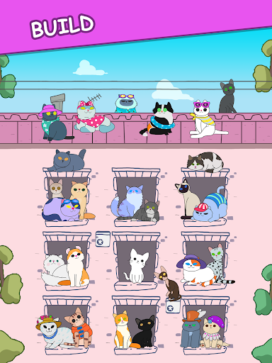 Cats Tower - Adorable Cat Game! filehippodl screenshot 10