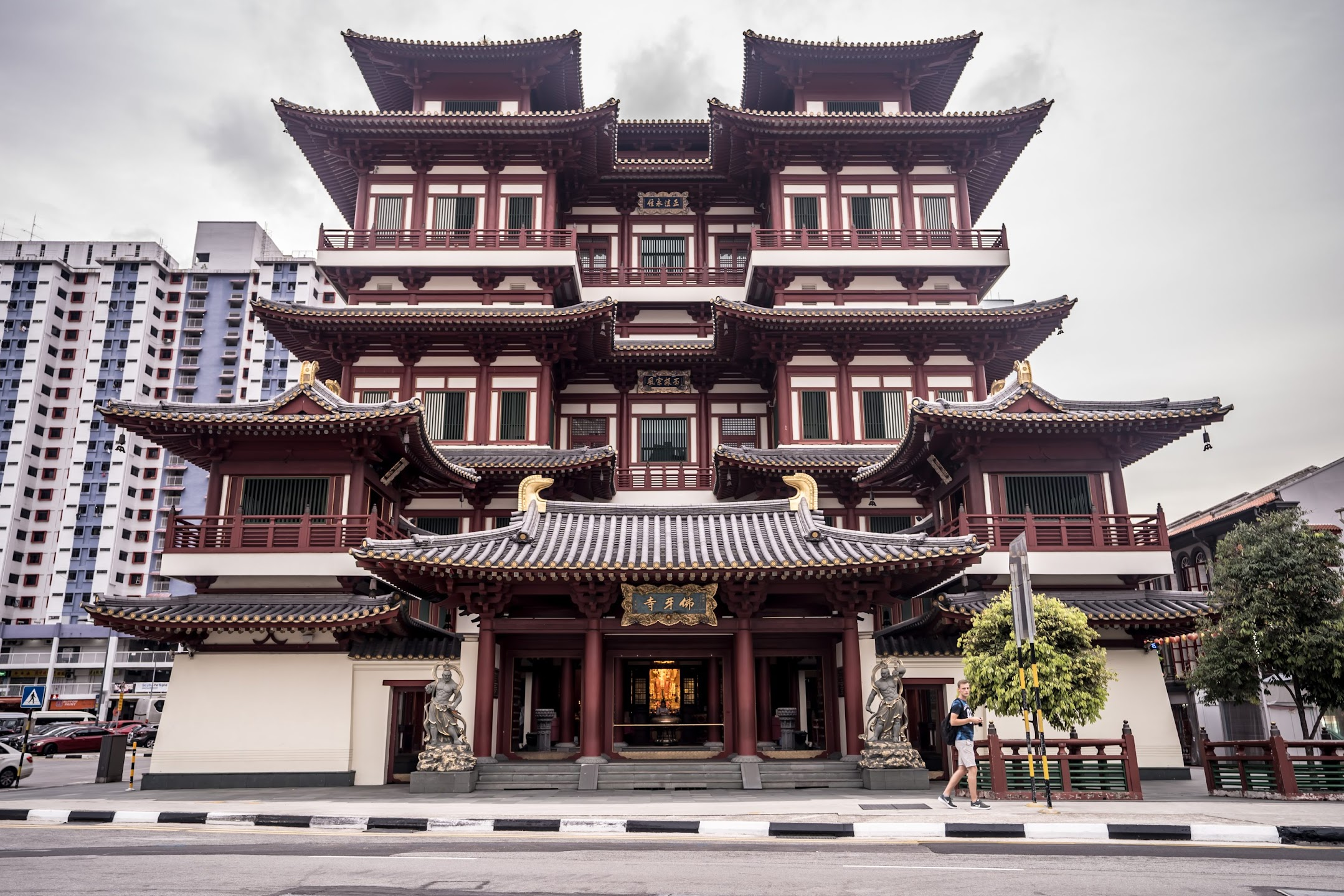 シンガポール チャイナタウン 新加坡佛牙寺龍牙院 (Buddha Tooth Relic Temple and MuseumBuddha Tooth Relic Temple and Museum)1