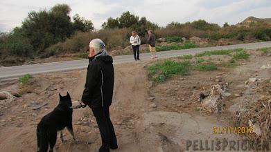 Photo: Här förvånas vi över vad översvämningen i 29 sept.  2012 ställde till det. Denna väg åkte vi förra året in till en plats där vi bodde några dagar med husbilen