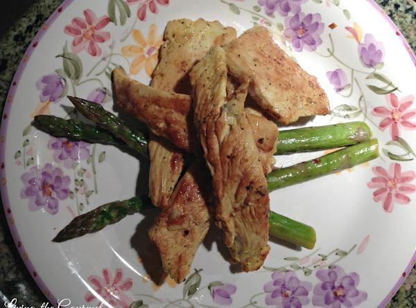 Asian Style Chicken Strips With Asparagus Recipe