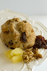 Sugar-free Apple Raisin Walnut