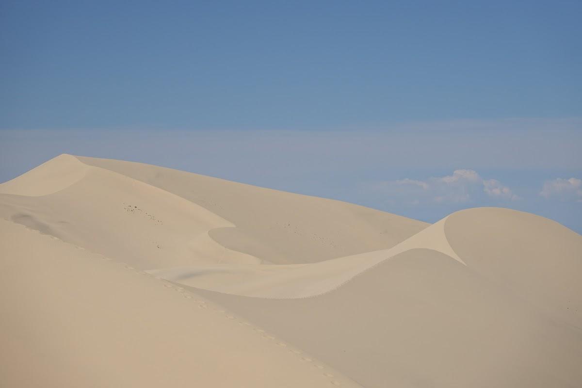 Dunes de sable de pittoresques