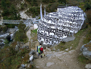 Photo: Lukla à Phakding : Ghat