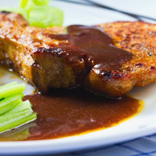 Slow-Cooked Barbecue Pork Chops.