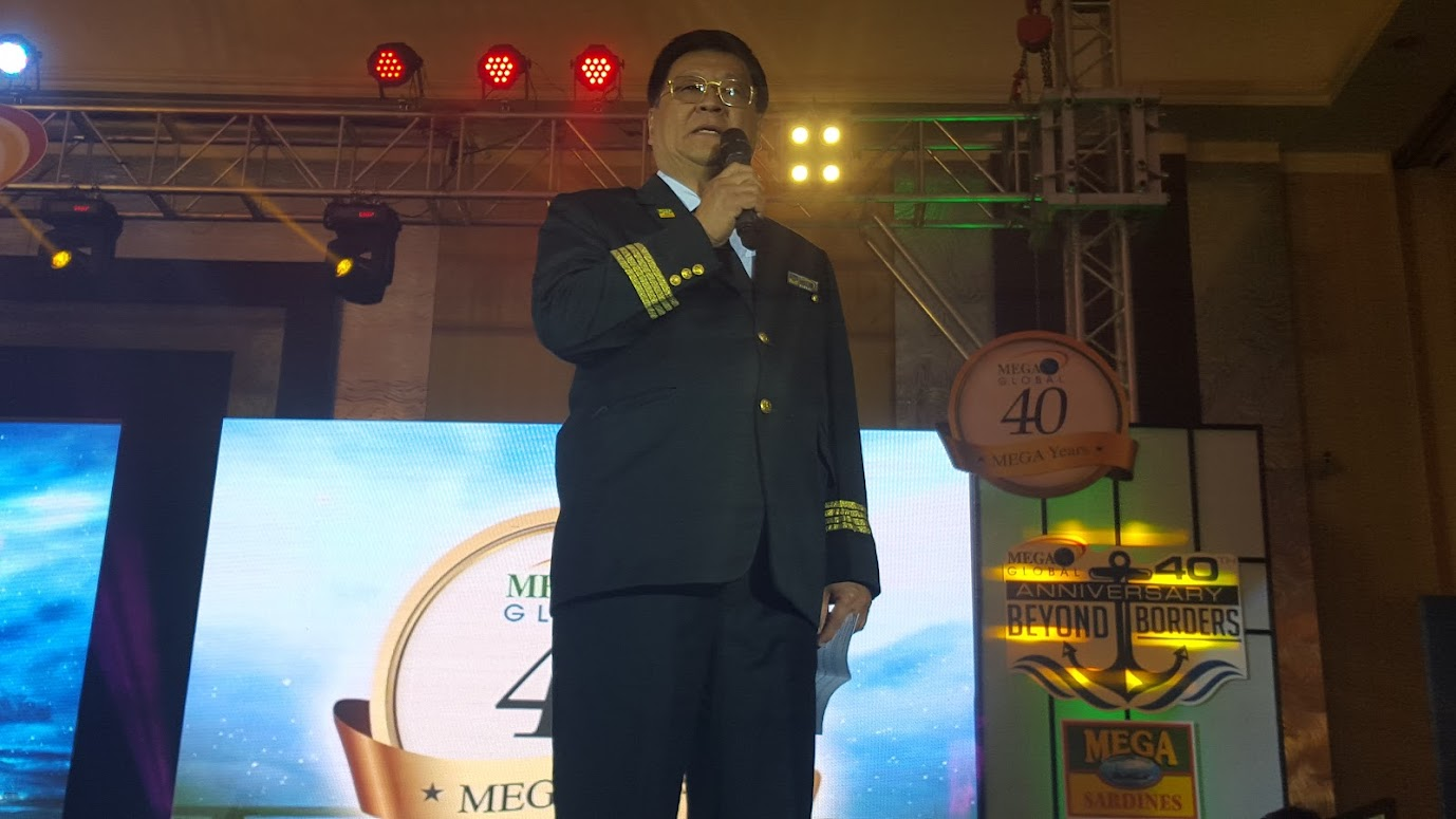 WILLIAM TIU LIM, CEO AND PRESIDENT MEGA GLOBAL CORP.