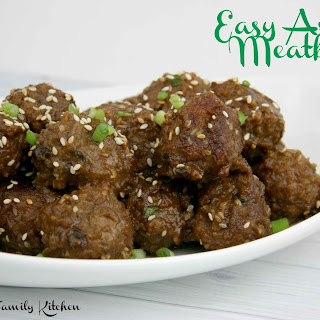 Easy Asian Meatballs