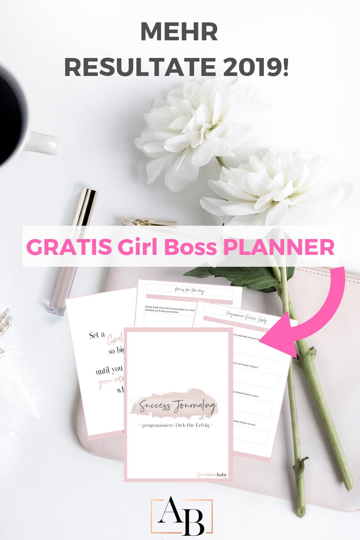 Plane Deinen Girl Boss Erfolg für Deine Selbstständigkeit