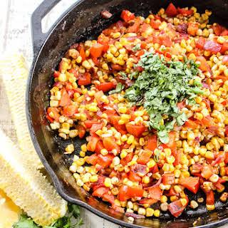 Fiesta Corn Saute.